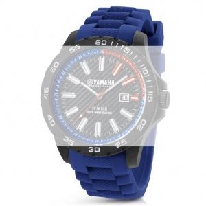 TW Steel Y1 Yamaha Factory Racing Horlogebandje - Blauw Rubber 20mm