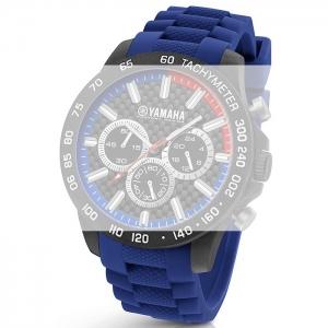 TW Steel Y110 Yamaha Factory Racing Horlogebandje - Blauw Rubber 22mm