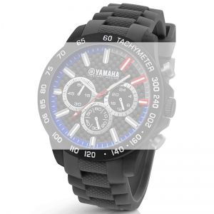 TW Steel Y114 Yamaha Factory Racing Horlogebandje - Grijs Rubber 22mm