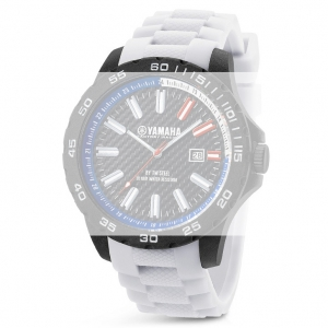 TW Steel Y5 Yamaha Factory Racing Horlogebandje - Wit Rubber 20mm