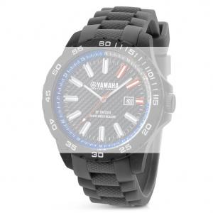 TW Steel Y7 Yamaha Factory Racing Horlogebandje - Grijs Rubber 20mm