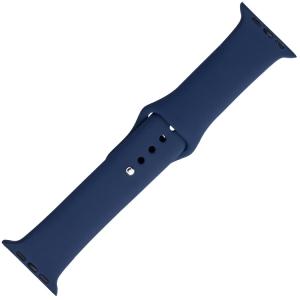 Apple Watch Horlogeband Blauw Silicone Rubber