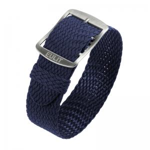 Eulit Perlon Horlogeband Baltic Marineblauw