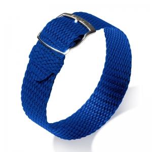 Eulit Perlon Horlogeband Panama Blauw
