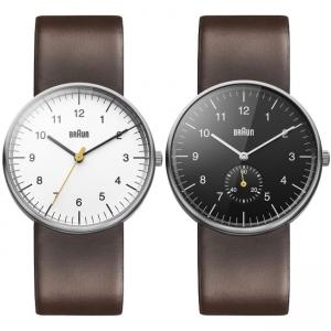 Braun Horlogeband voor BN0021WHBRG en BN0024BKBRG - Bruin Leer