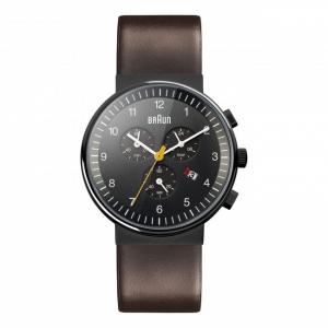 Braun Horlogeband voor BN0035BKBRG - Bruin Leer