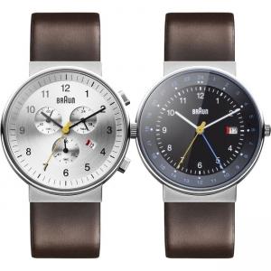 Braun Horlogeband voor BN0035SLBRG en BN0142BKBRG - Bruin Leer