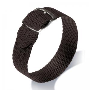 Eulit Perlon Horlogeband Panama Bruin