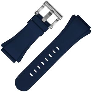 TW Steel Horlogebandje CE4016 Kivanc, CE5007 Coronel WTCC CEO Tech 48mm - Blauw Rubber