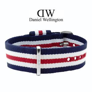 Daniel Wellington 20mm Classic Canterbury NATO Horlogebandje RVS Gesp