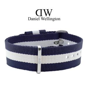 Daniel Wellington 20mm Classic Glasgow NATO Horlogebandje RVS Gesp