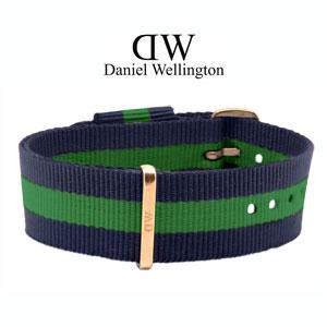 Daniel Wellington 20mm Classic Warwick NATO Horlogebandje Rose Gouden Gesp