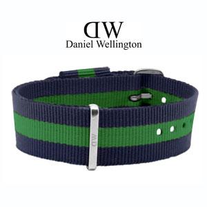 Daniel Wellington 20mm Classic Warwick NATO Horlogebandje RVS Gesp