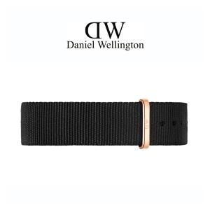 Daniel Wellington 20mm Classic Cornwall NATO Horlogebandje Rose Gesp
