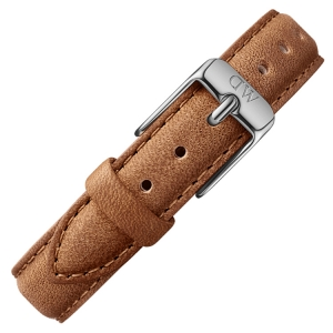 Daniel Wellington 12mm Petite Durham Bruin Leer Horlogebandje RVS Gesp