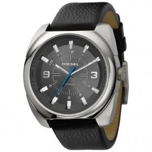 Diesel DZ1246 Horlogeband Zwart Leer