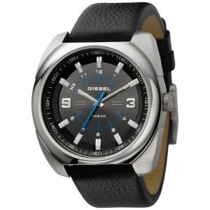 Diesel DZ1247 Horlogeband Zwart Leer
