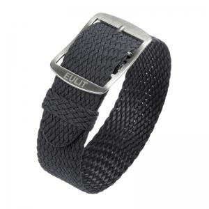 Eulit Perlon Horlogeband Baltic Grijs