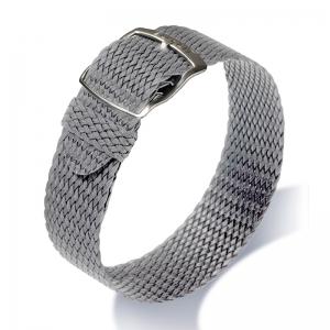 Eulit Perlon Horlogeband Panama Grijs