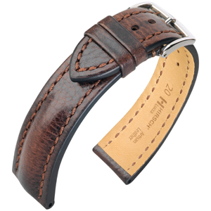 Hirsch Lucca Artisan Horlogebandje Bruin