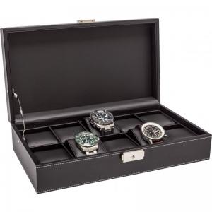 La Royale Classico 10 Horlogebox Zwart - 10 horloges