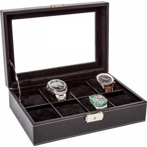 La Royale Classico 8 Horlogebox XL met Venster - 8 horloges