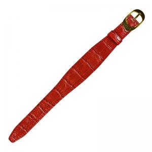 Locman Change Donna Lederen Horlogeband Rood