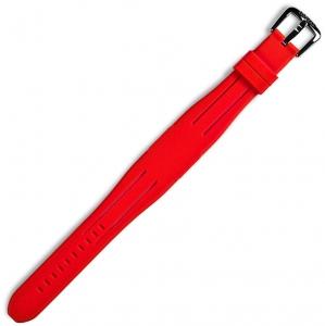 Locman Change Uomo Rubberen Horlogeband Rood