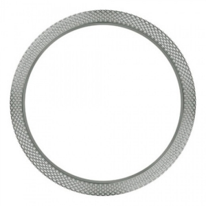 Marc Coblen / TW Steel Bezel 42mm Roestvrij Staal Gehamerd - MCB42SH