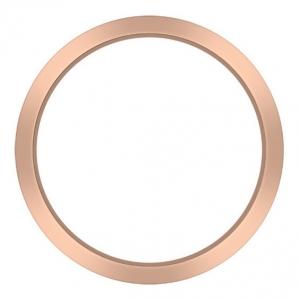 Marc Coblen Bezel 50mm Rosé Staal Mat - MCB50R