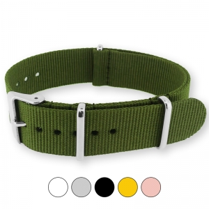 Army Green NATO G10 Military Nylon Strap
