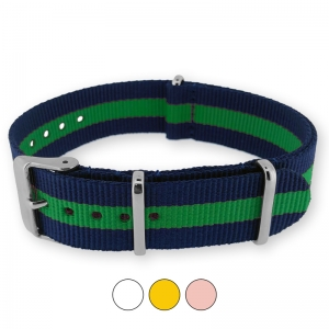 Regimental Navy Green NATO G10 Military Nylon Strap