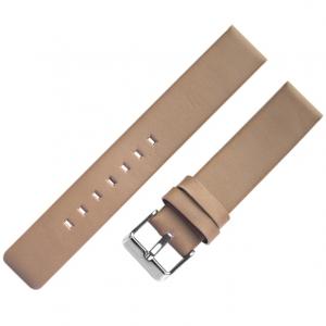 OOZOO Horlogebandje Donker Roze Leer
