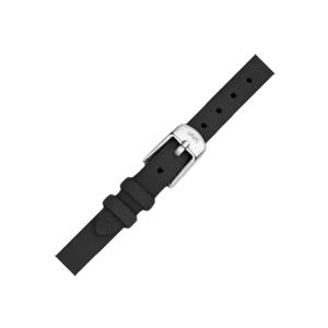 LLarsen / Lars Larsen Horlogeband Zwart Kalfsleer Leer - 8mm