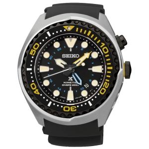Seiko Prospex Horlogeband SUN021P1 Zwart Rubber