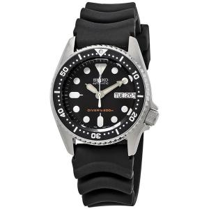 Seiko Duikhorloge Horlogeband Zwart Rubber - 20mm