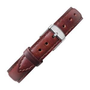 Daniel Wellington 14mm Petite St Mawes Bruin Leer Horlogebandje RVS Gesp