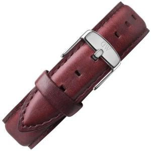 Daniel Wellington 18mm Classic  St Mawes Bruin Leer Horlogebandje RVS Gesp