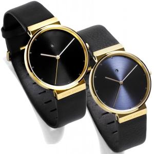 Jacob Jensen horlogeband 846 zwart leer 19mm