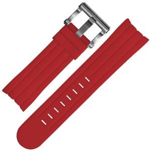 TW Steel Grandeur Tech Horlogebandje Rood Rubber TW125 TW125R - 24mm