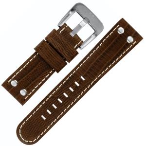 TW Steel Horlogeband Bruin Kroko Kalfsleer 22mm
