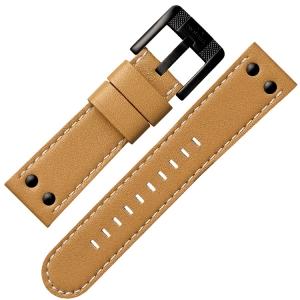 TW Steel Horlogebandje TWA203 - Zand 24mm