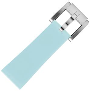 Silicone Horlogeband Pastel Blauw 22mm - Marc Coblen