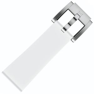 Marc Coblen / TW Steel Silicone Horlogeband Wit 22mm