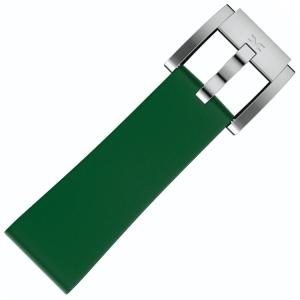 Silicone Horlogeband Donkergroen 22mm - Marc Coblen