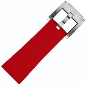 Silicone Horlogeband Rood 22mm - Marc Coblen