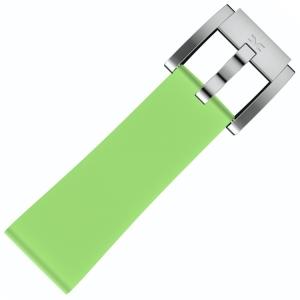 Silicone Horlogeband Lichtgroen 22mm - Marc Coblen