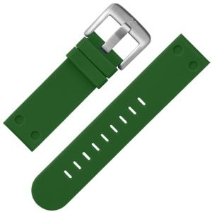 TW Steel Horlogebandje TW505 Groen Rubber 22mm