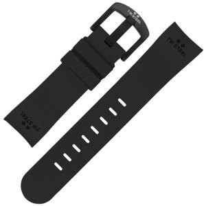 TW Steel Horlogebandje TW43 - Zwart Rubber 24mm