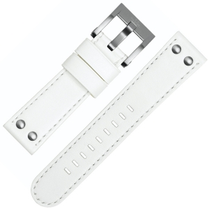 TW Steel Horlogebandje CE1037, CE1038 - Wit 22mm